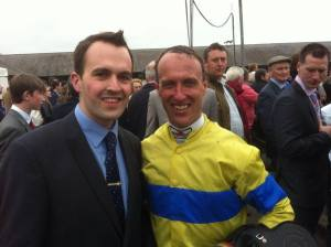 Robert Power & Robbie Power at this year's Punchestown Festival