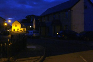 Previously residents of Cnoc Na Gréine were in near-total darkness