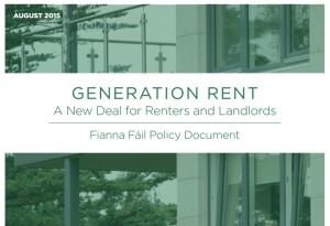 Fianna Fáil Policy on Rental Market