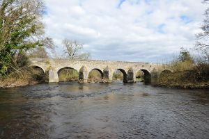 Caragh Bridge over the River Liffey
